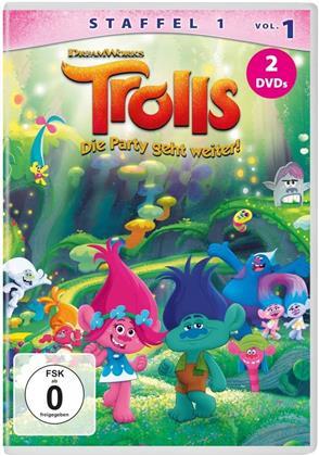Trolls - Die Party geht weiter! - Staffel 1 - Vol. 1 (2 DVDs)