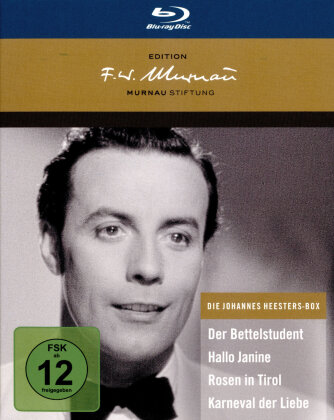 Die Johannes Heesters Box (Deluxe Edition, 4 Blu-rays)