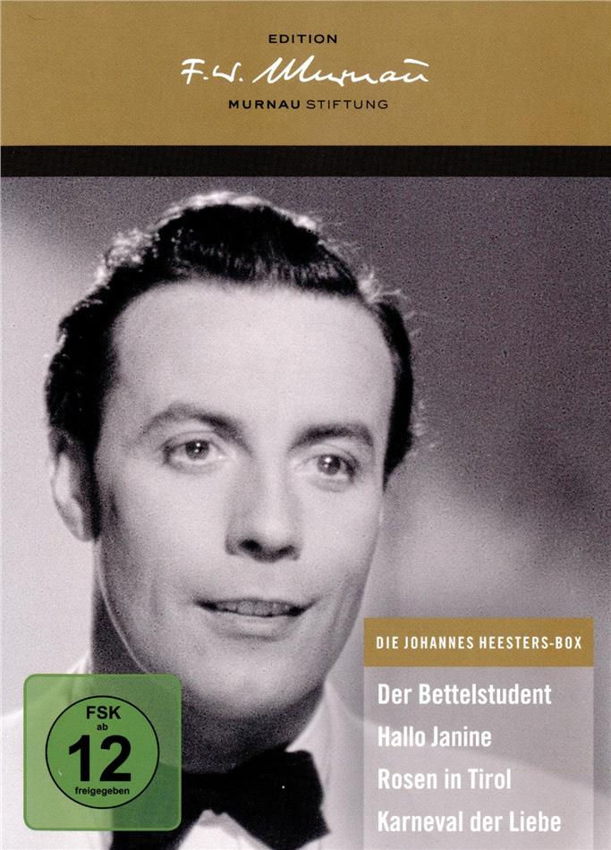 Die Johannes Heesters Box (Deluxe Edition, 4 DVDs)