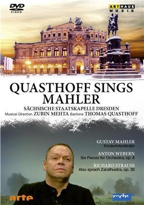 Sächsische Staatskapelle Dresden & Quasthoff Thomas - Quasthoff sings Mahler