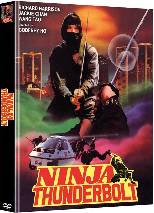 Ninja Thunderbolt (1984) (Cover B, Limited Edition, Mediabook, Uncut, 2 DVDs)