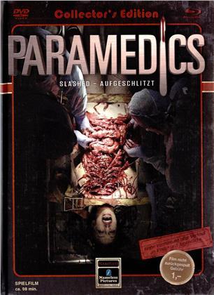 Paramedics - Slashed - Aufgeschlitzt (2016) (Cover C, Limited Edition, Mediabook, Blu-ray + DVD)