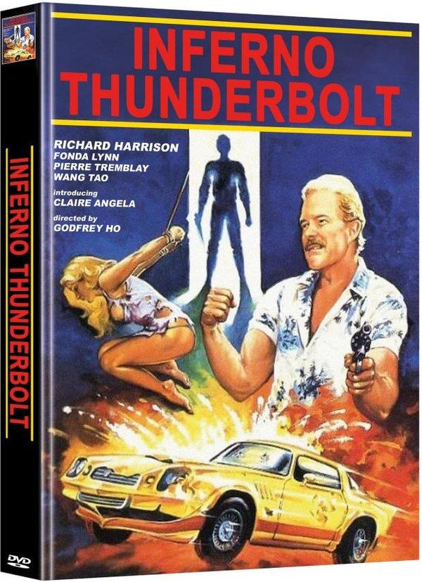 Inferno Thunderbolt (1984) (Cover E, Limited Edition, Mediabook, Uncut, 2 DVDs)