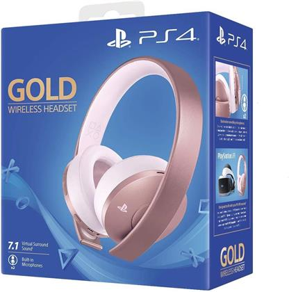PS4 Headset original Gold Rose Edition Sony 7.1. VR optimiert
