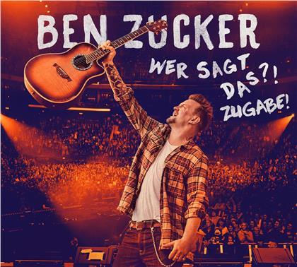 Ben Zucker - Wer Sagt Das?! Zugabe! (3 CDs)