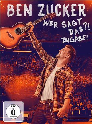 Ben Zucker - Wer Sagt Das?! Zugabe! (Super Deluxe Edition, 3 CDs + 2 DVDs + Blu-ray)