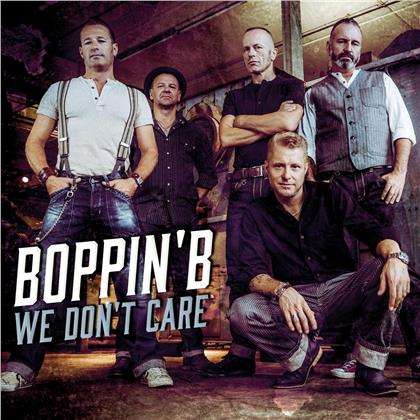 Boppin' B - We Don't Care (Digipack)
