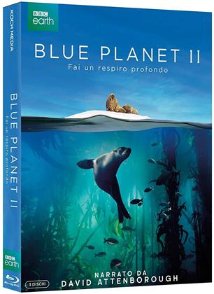Blue Planet 2 (2017) (BBC Earth, 3 Blu-rays)