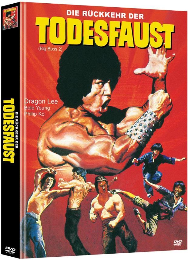 Die Rückkehr der Todesfaust (1982) (Cover A, Limited Edition, Mediabook, 2 DVDs)