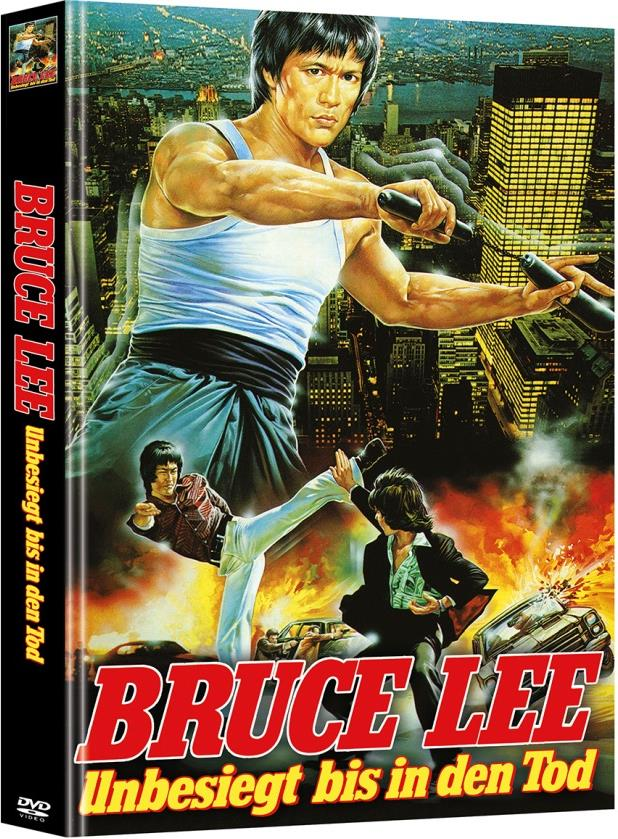 Bruce Lee - Unbesiegt bis in den Tod (1976) (Cover A, Limited Edition, Mediabook, 2 DVDs)