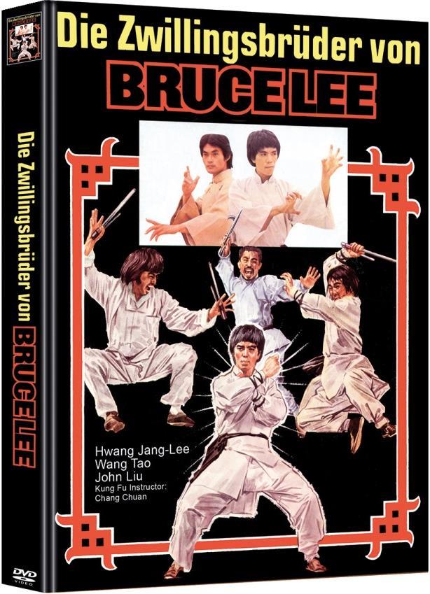 Die Zwillingsbrüder von Bruce Lee (1976) (Cover A, Limited Edition, Mediabook, 2 DVDs)