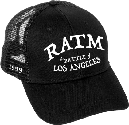 Rage Against The Machine - Battle Star (Trucker Cap)
