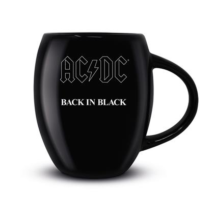 AC/DC - Back In Black (Oval Mug)