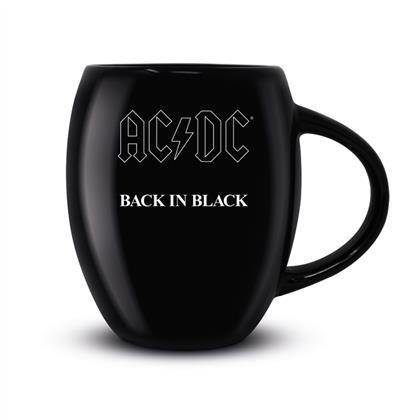 AC/DC - Back In Black (Oval Mug)