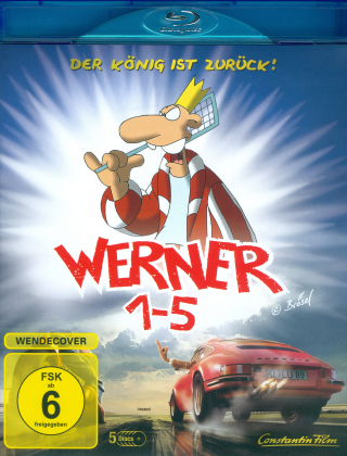 Werner 1-5 - Königbox (5 Blu-rays)