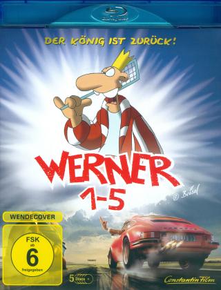 Werner 1-5 (5 Blu-rays)