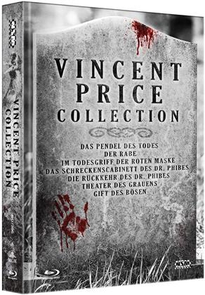 Vincent Price Collection (Limited Collector's Edition, Mediabook, 7 Blu-rays)
