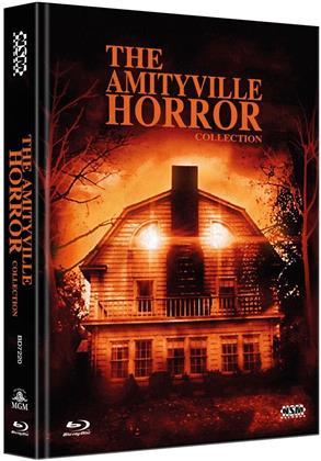The Amityville Horror Collection (Collector's Edition Limitata, Mediabook, 4 Blu-ray)