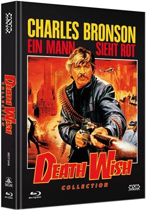 Death Wish Collection (Limited Edition, Mediabook, 5 Blu-rays)