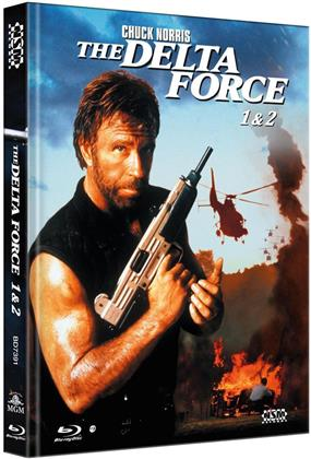 The Delta Force 1 & 2 (Collector's Edition Limitata, Mediabook, 2 Blu-ray)
