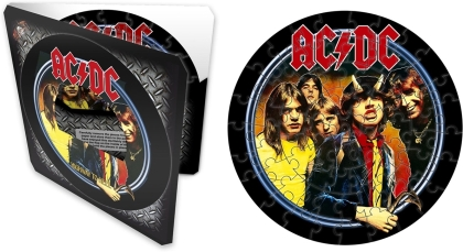 """AC/DC - Highway To Hell (7"""" 72 Piece Jigsaw Puzzle)"""