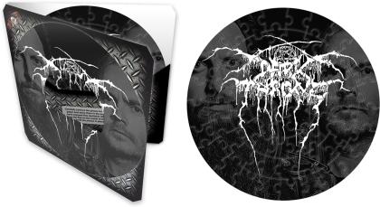"""Darkthrone - Logo (7"""" 72 Piece Jigsaw Puzzle)"""