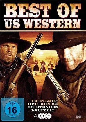Best of US Western - 13 Filme (4 DVDs)