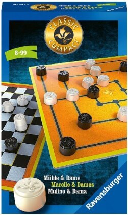 Classic Compact - Mühle und Dame (Spiel)