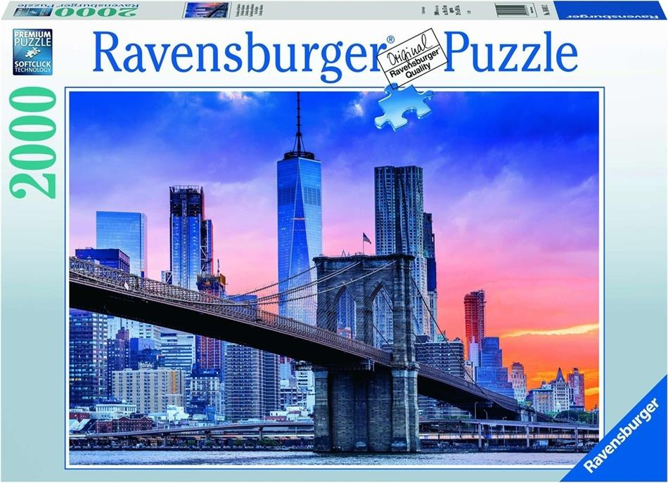 Von Brooklyn nach Manhattan - 2000 Teile Puzzle
