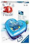 Herz Unterwasserwelt '20 - 54 Teile 3D-Schatulle Puzzle