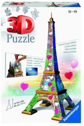 Eiffelturm - 216 Teile 3D Puzzle (Love Edition)