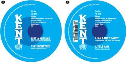 Little Ann & Ebonettes - Just A Mistake/Lean Lanky Daddy (LP)