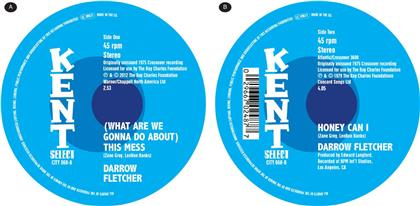 "Darrow Fletcher - (What Are We Gonna Do About) This Mess / + Honey Can I (7"" Single)"