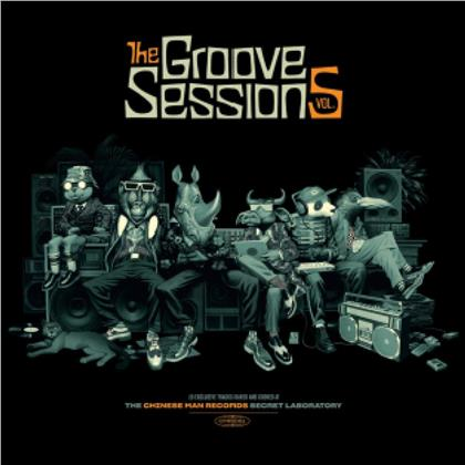 Chinese Man - Groove Sessions Vol.5