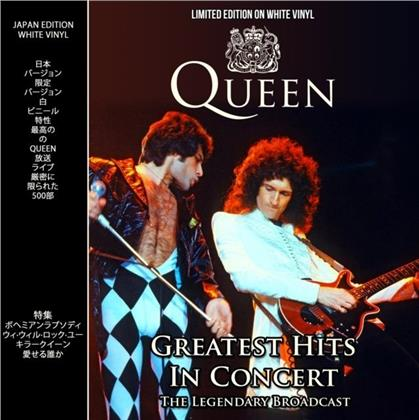 Queen - Greatest Hits In Concert (+ Magazine, White Vinyl, LP)