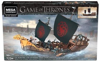 Mega Construx Game of Thrones - Targaryen Kriegsschiff