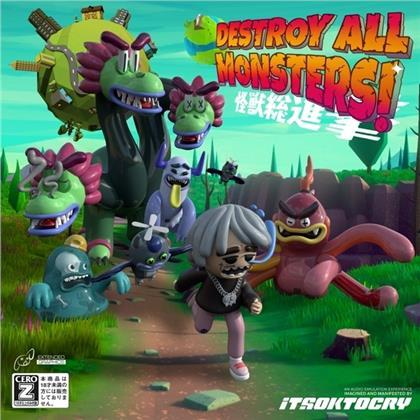 Itsoktocry - Destroy All Monsters! (Clear Vinyl, LP)