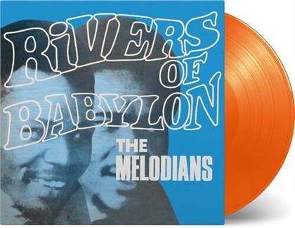 The Melodians - Rivers Of Babylon: (Limited, 2020 Reissue, Music On Vinyl, Orange Vinyl, LP)