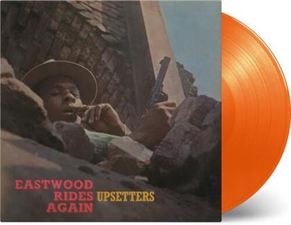 The Upsetters - Eastwood Rides Again (Limited, 2020 Reissue, Music On Vinyl, Orange Vinyl, LP)