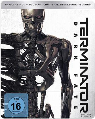 Terminator 6 - Dark Fate (2019) (Limited Edition, Steelbook, 4K Ultra HD + Blu-ray)
