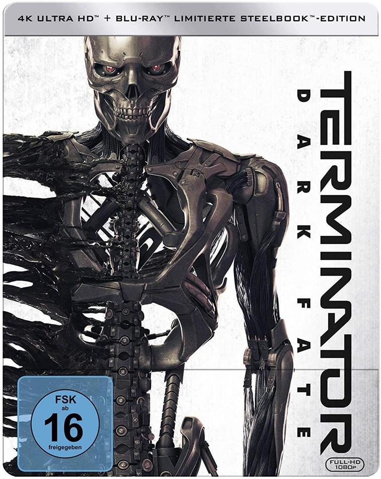Terminator 6 - Dark Fate (2019) (Edizione Limitata, Steelbook, 4K Ultra HD + Blu-ray)