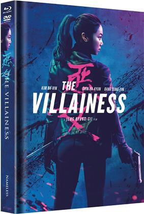 The Villainess (2017) (Cover B, Limited Edition, Mediabook, Blu-ray + DVD)