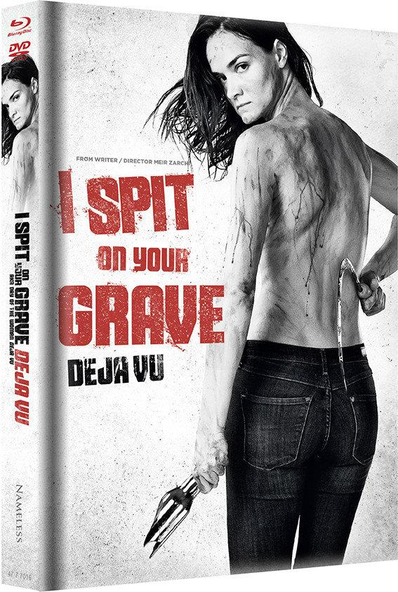 I Spit On Your Grave: Deja Vu (2019) (Cover B, Limited Edition, Mediabook, Blu-ray + DVD)