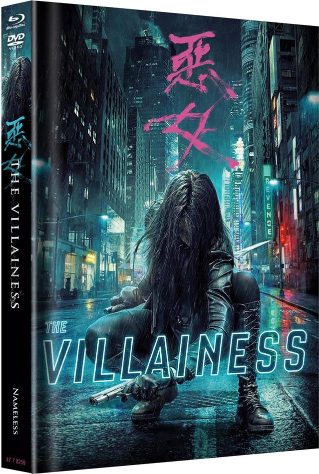 The Villainess (2017) (Cover A, Limited Edition, Mediabook, Blu-ray + DVD)