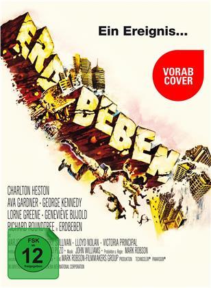 Erdbeben (1974) (TV-Fassung, Kinoversion, Limited Edition, Mediabook, 2 Blu-rays + DVD)