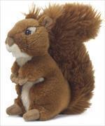 WWF Eichhörnchen assortiert (sitzend/stehend) 15 cm - 1 Stück