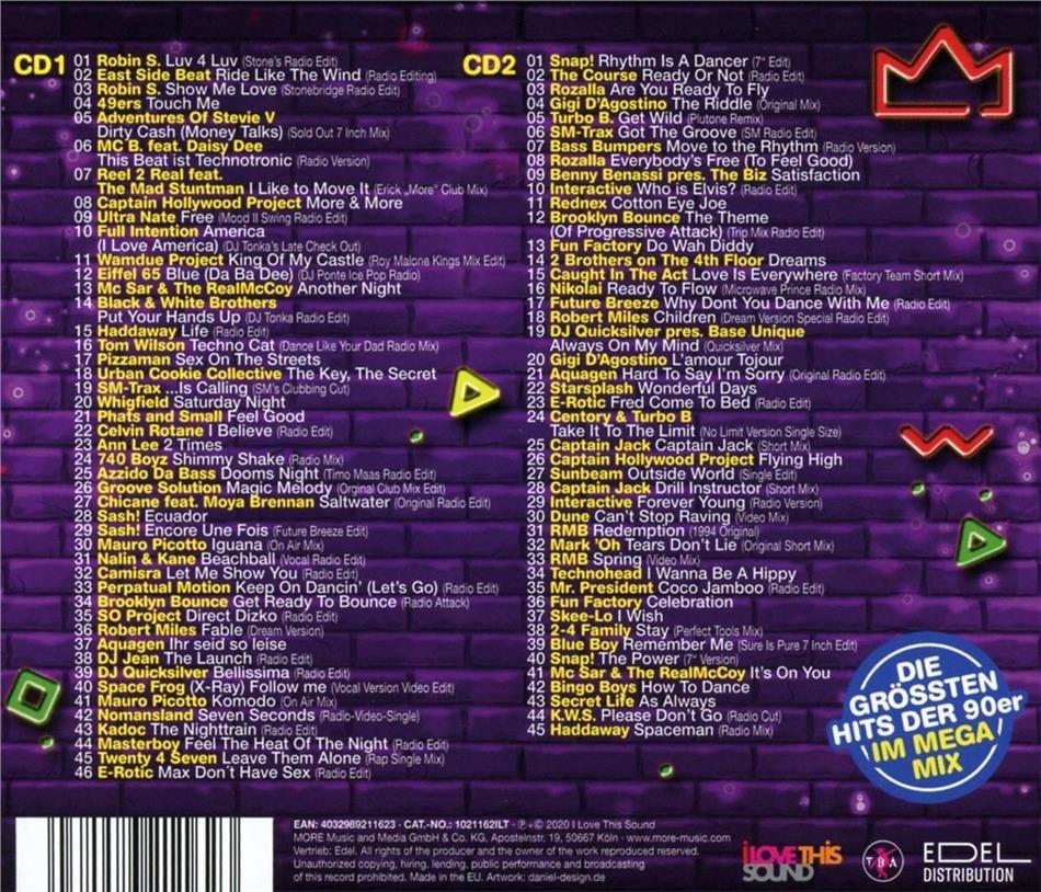 Die Besten Hits Der 90er Liste