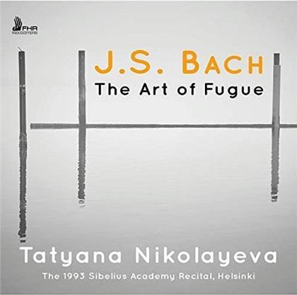 Johann Sebastian Bach (1685-1750) & Tatyana Nikolayeva - Die Kunst Der Fuge BWV 1080