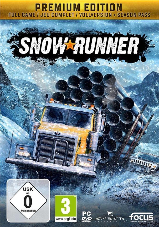 SnowRunner - (Code in a Box) (Édition Premium)