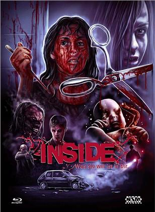 Inside - Was sie will ist in Dir (2007) (Cover E, Limited Collector's Edition, Mediabook, Blu-ray + DVD)